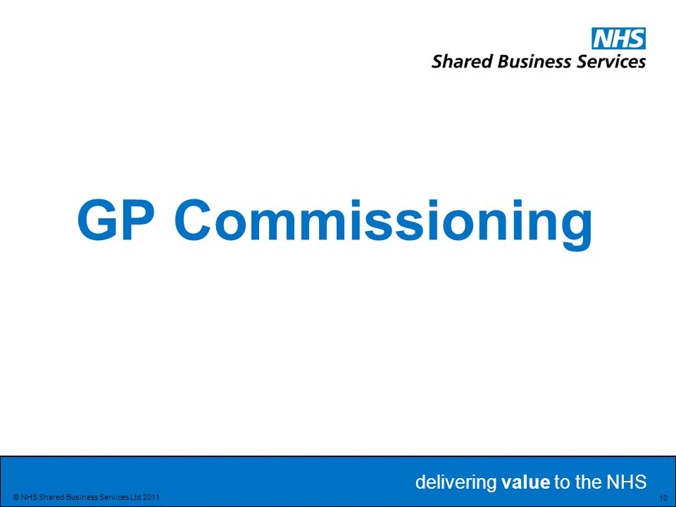 GP Commissioning