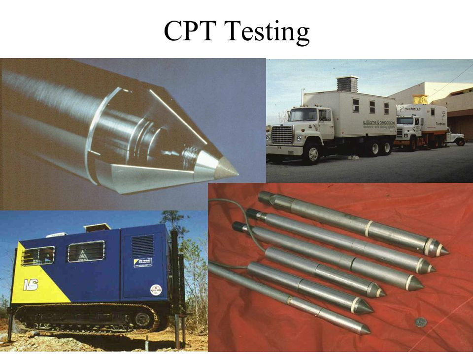 CPT Testing