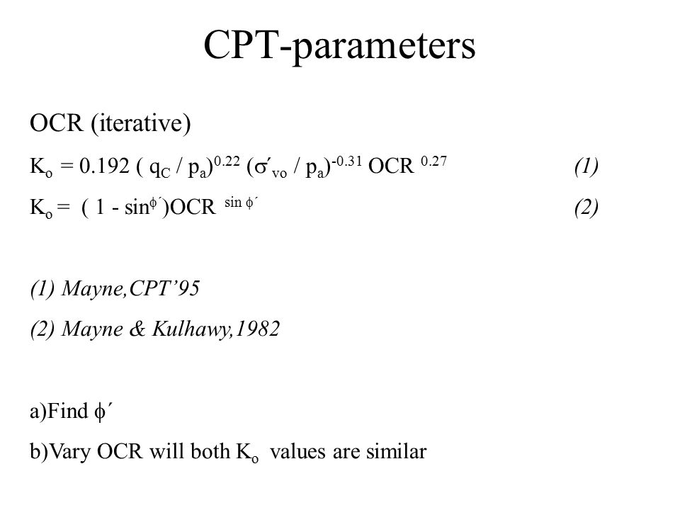 CPT-parameters OCR (iterative)