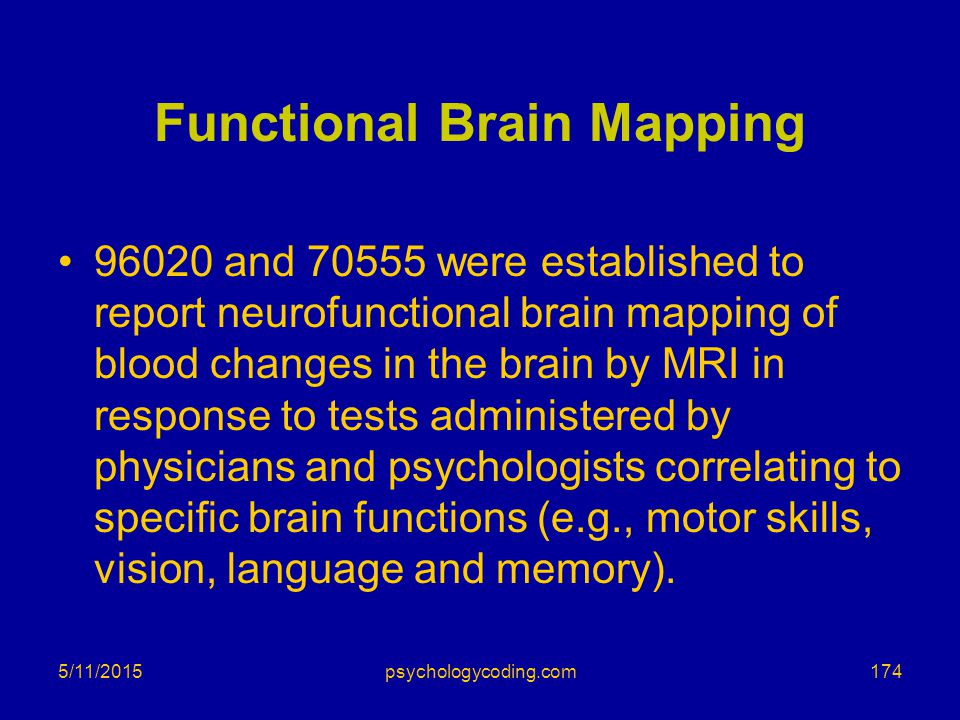 Functional Brain Mapping