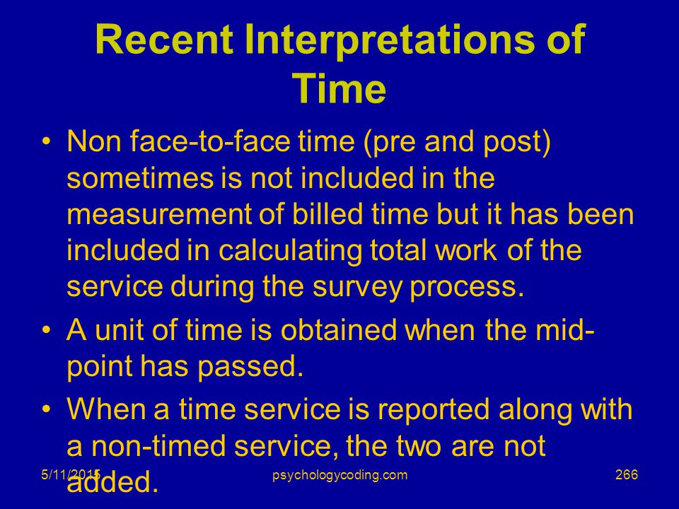 Recent Interpretations of Time