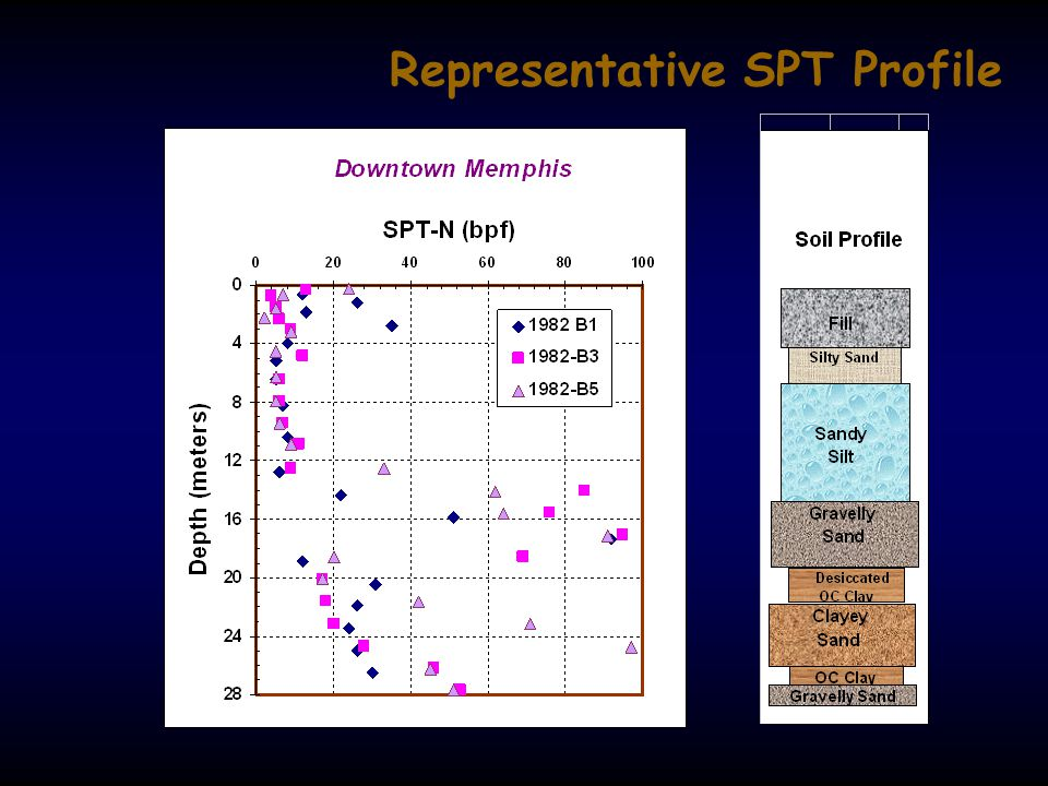 Representative SPT Profile