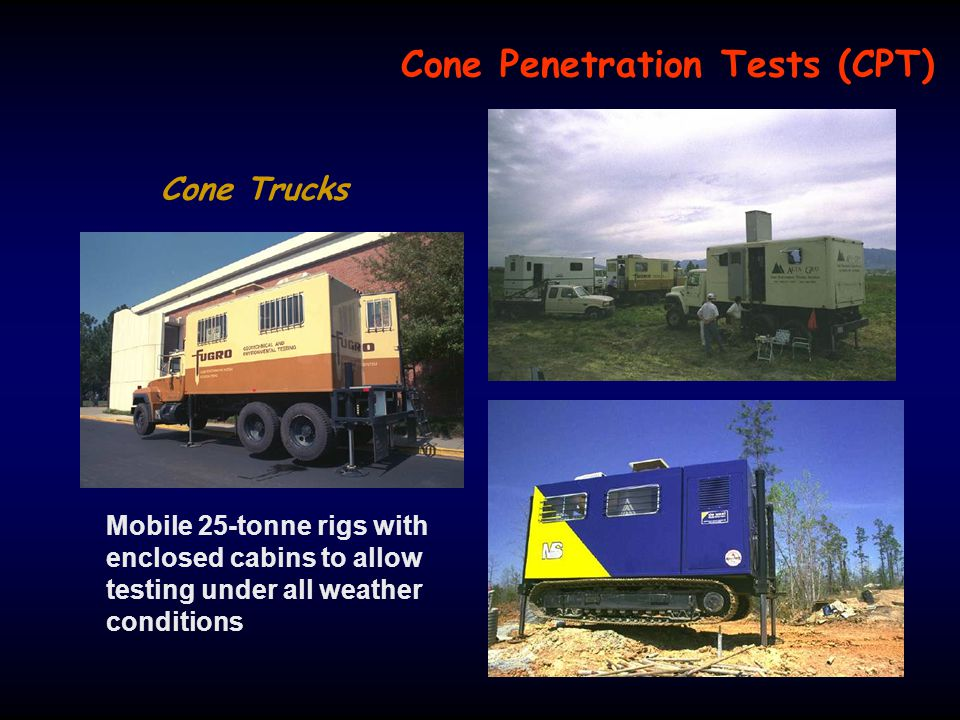 Cone Penetration Tests (CPT)