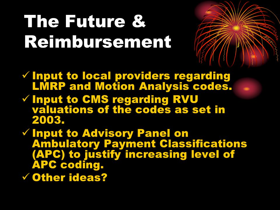 The Future & Reimbursement