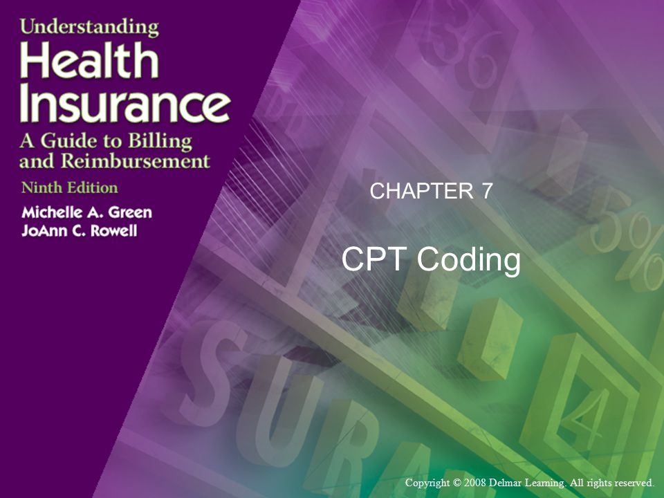 CHAPTER 7 CPT Coding
