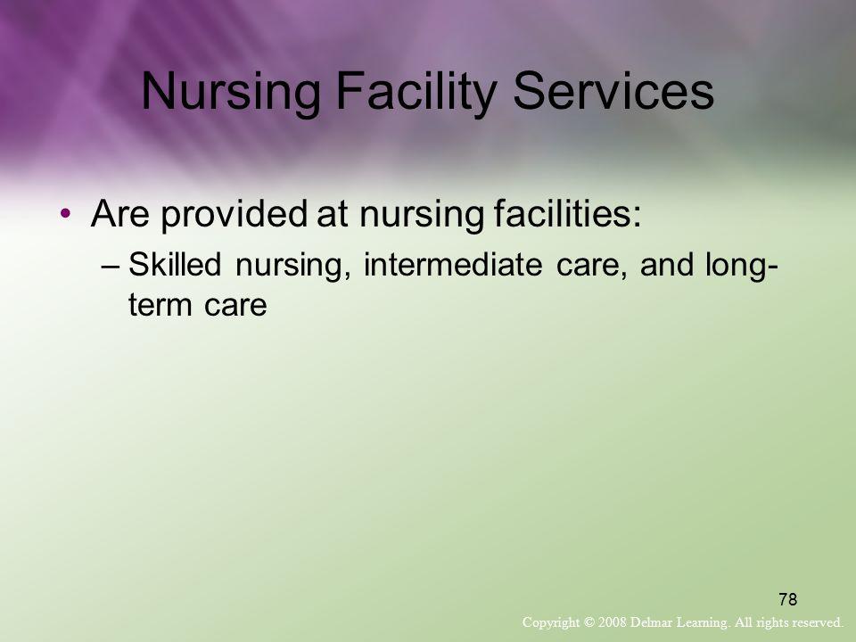 Nursing Facility Services