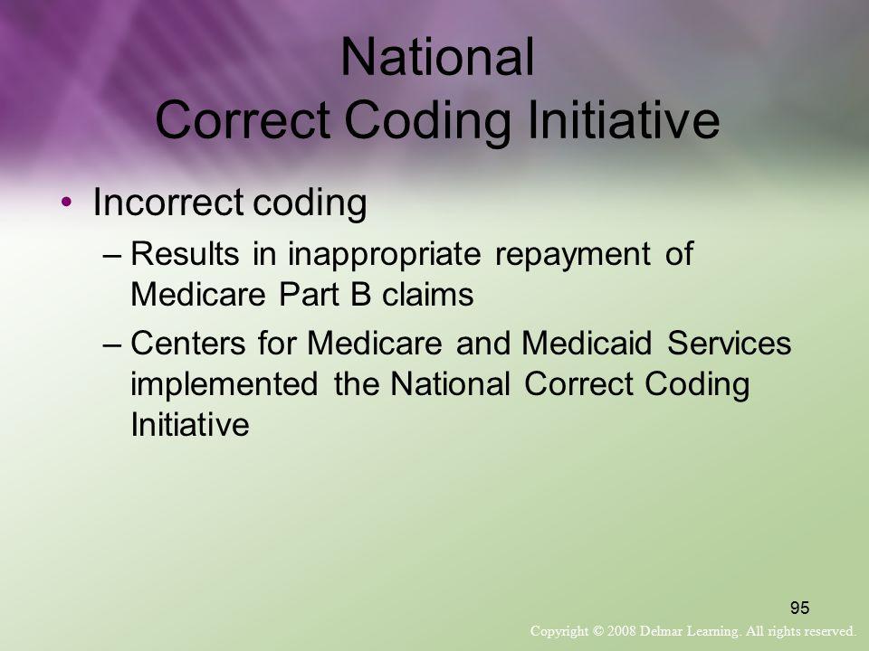 National Correct Coding Initiative