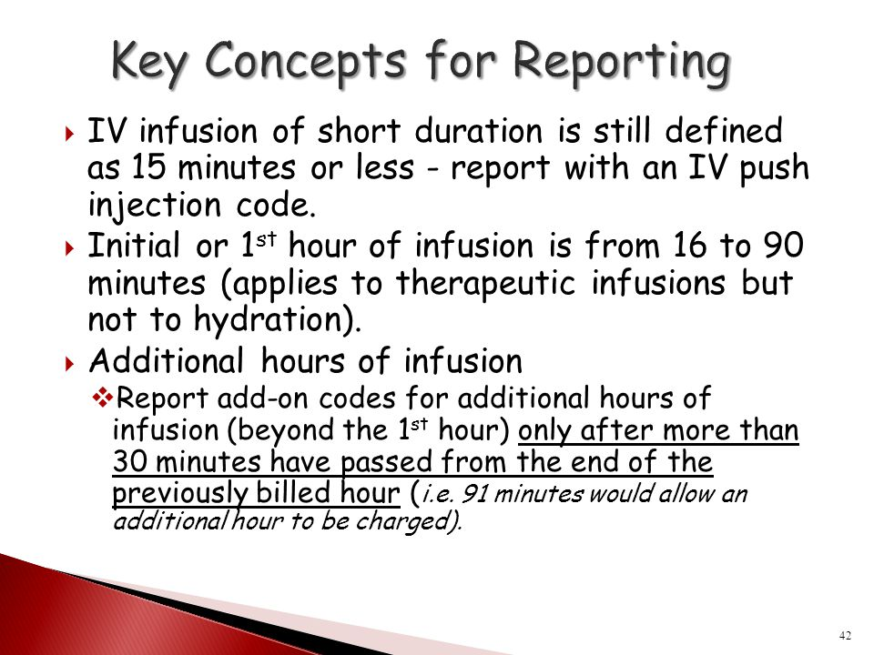 Key Concepts for Reporting