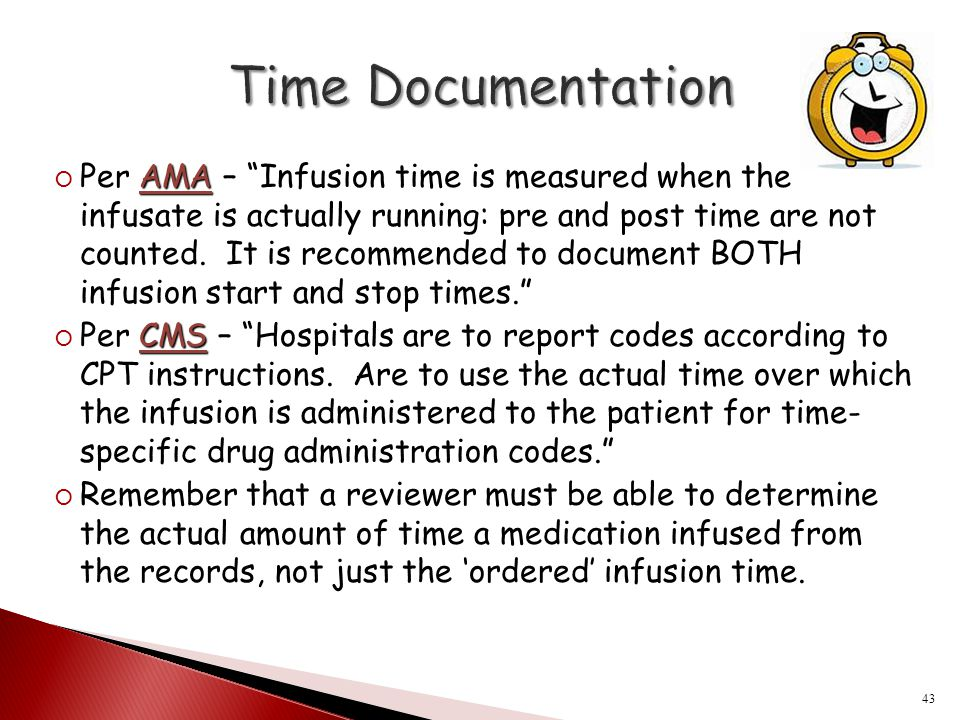 Time Documentation