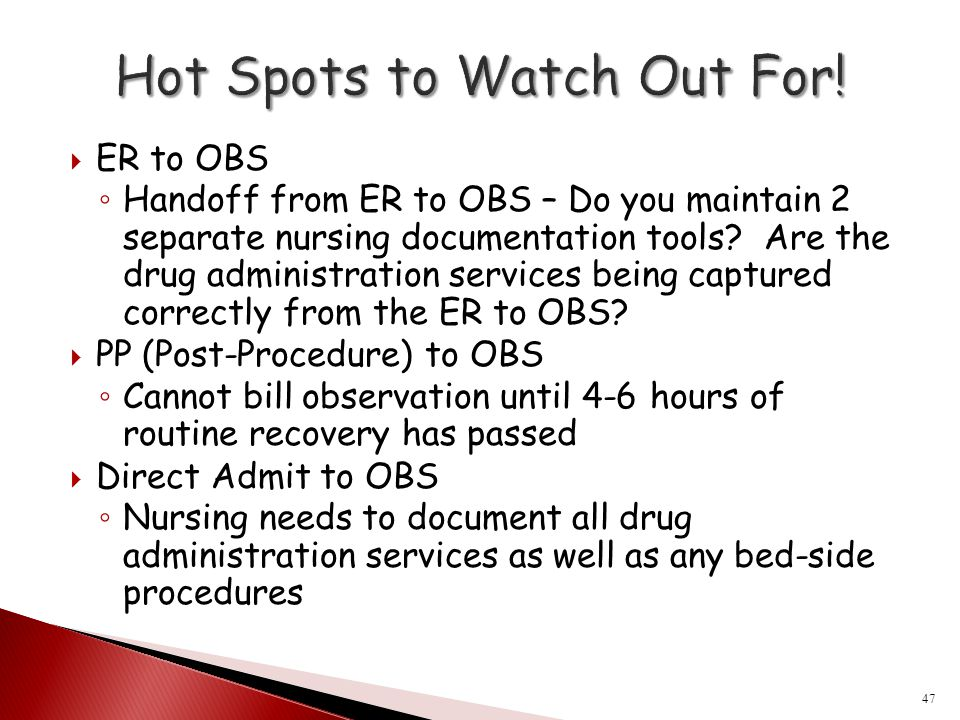 Hot Spots to Watch Out For!