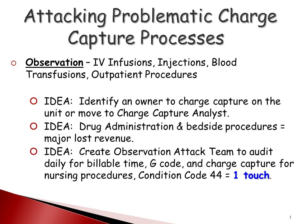 Attacking Problematic Charge Capture Processes
