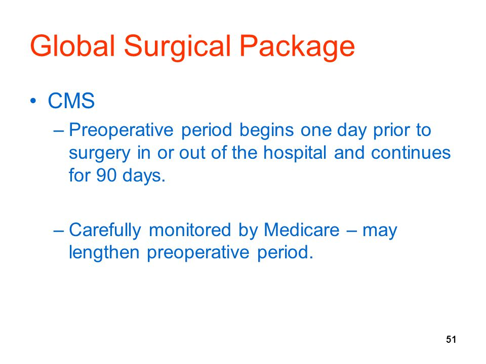 Global Surgical Package