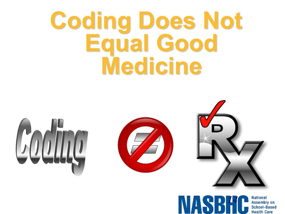 Coding Does Not Equal Good Medicine