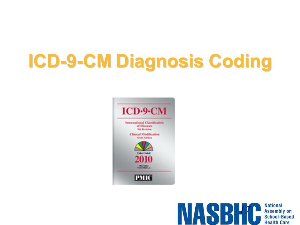 ICD-9-CM Diagnosis Coding