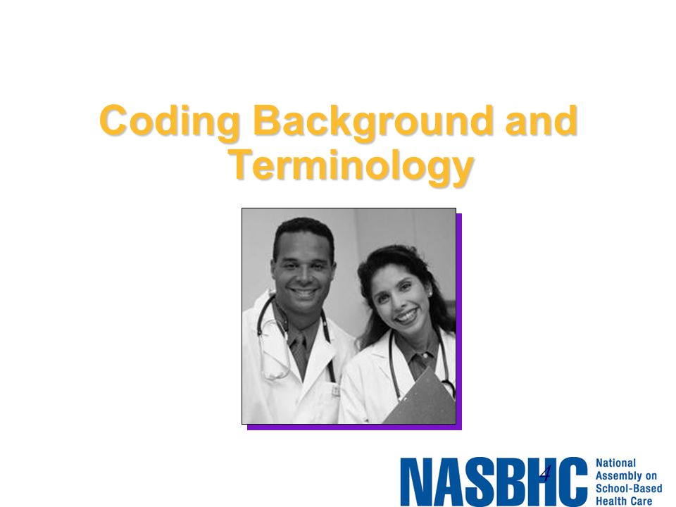 Coding Background and Terminology