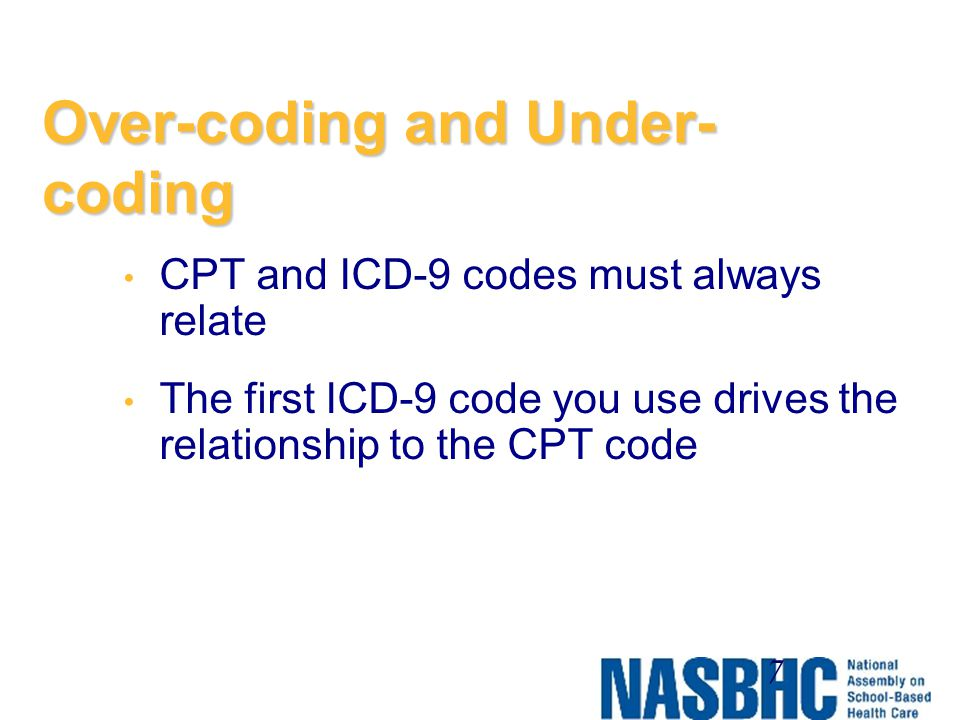 Over-coding and Under-coding
