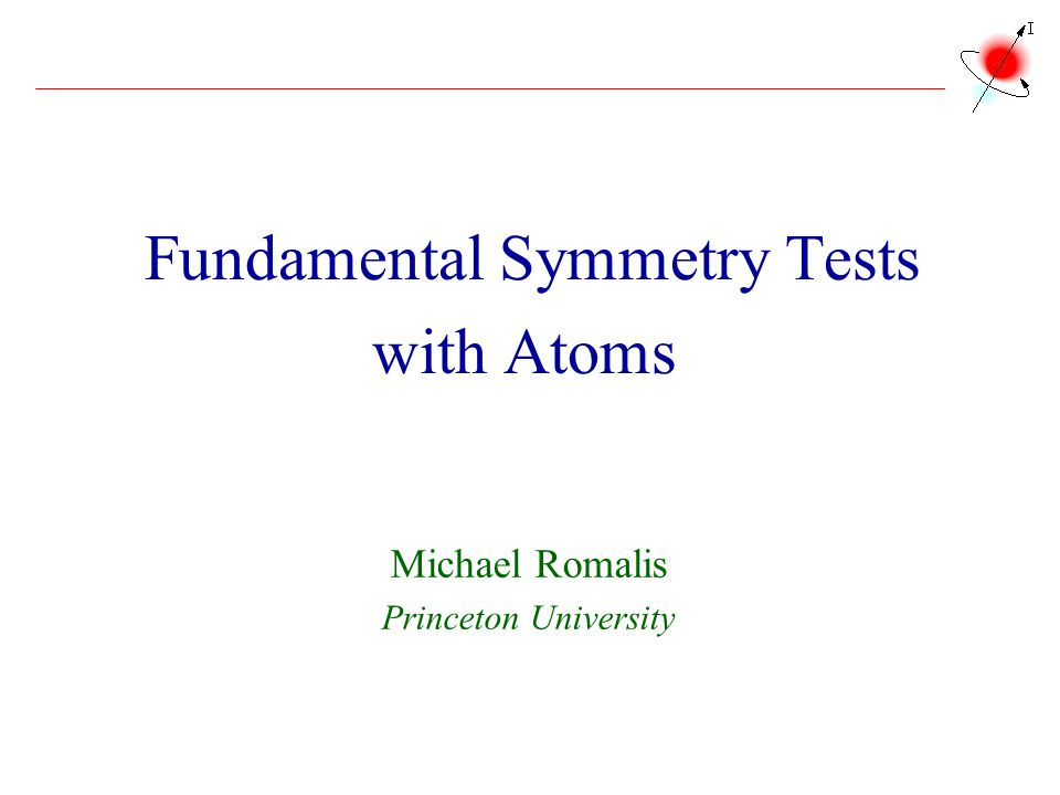 Fundamental Symmetry Tests with Atoms