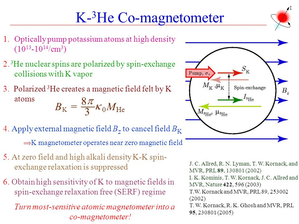Turn most-sensitive atomic magnetometer into a co-magnetometer!