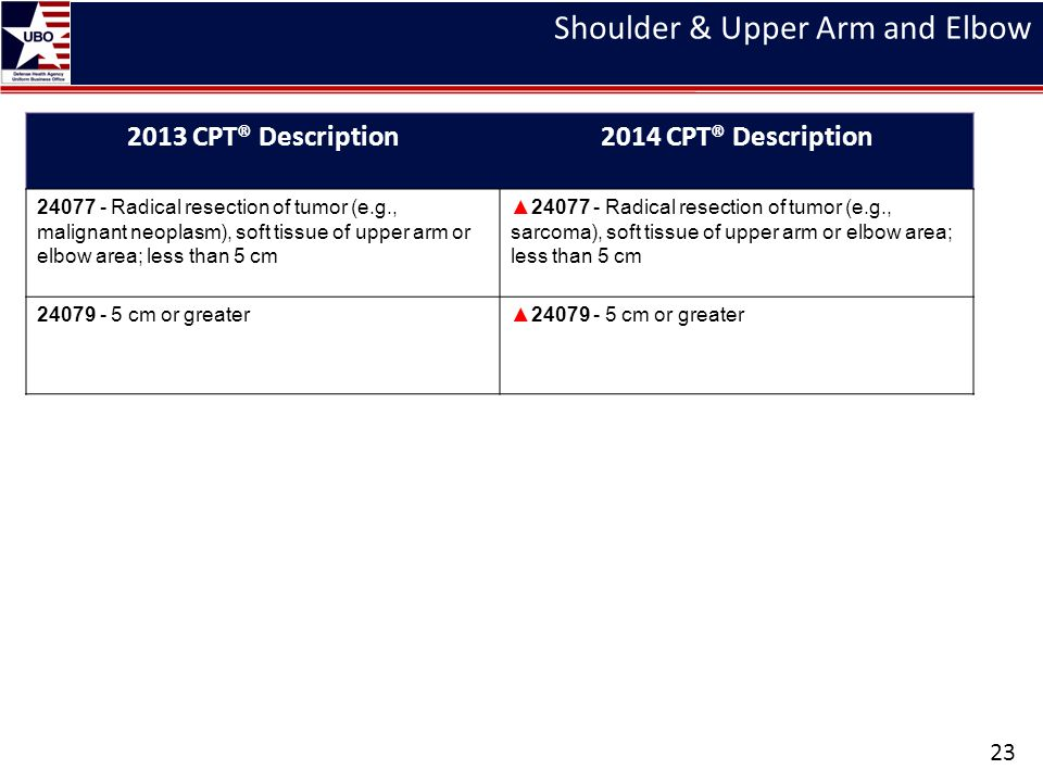 Shoulder & Upper Arm and Elbow