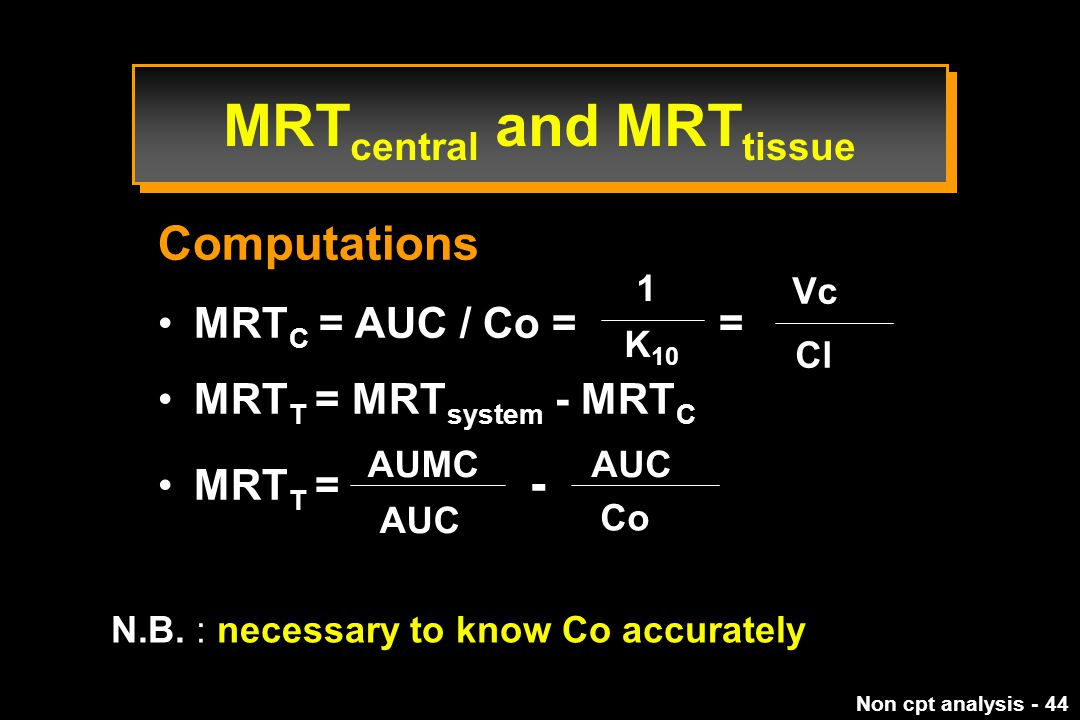 MRTcentral and MRTtissue