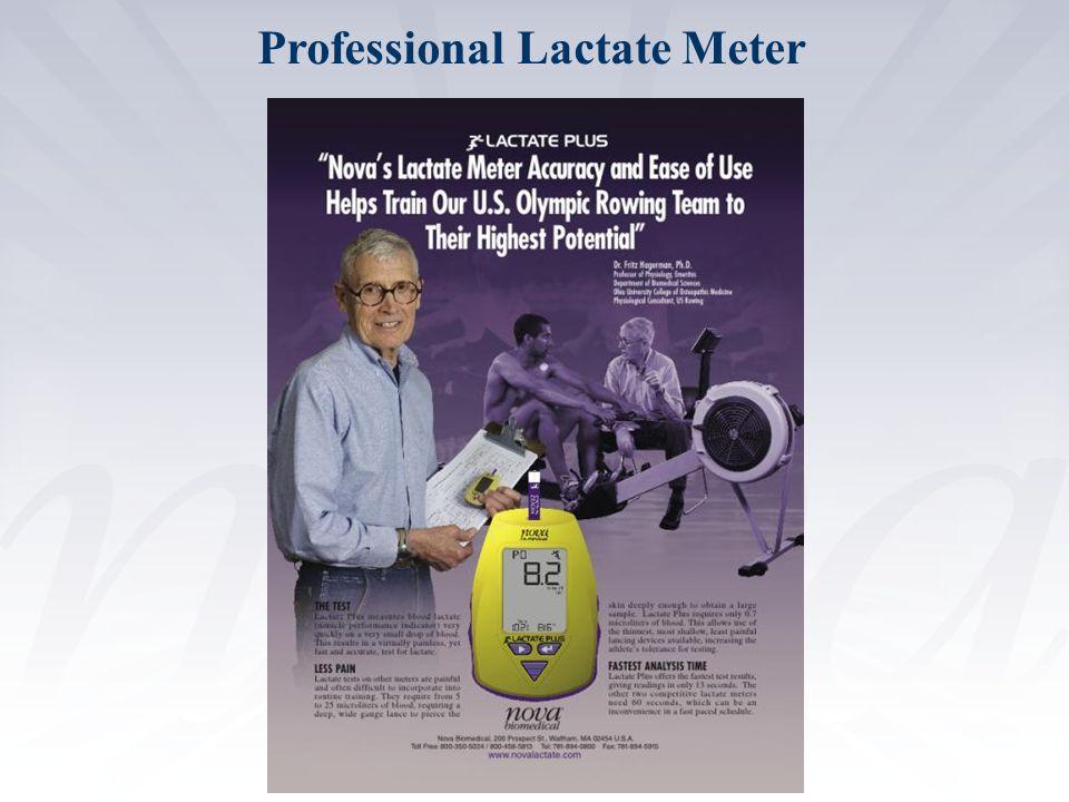 Professional Lactate Meter