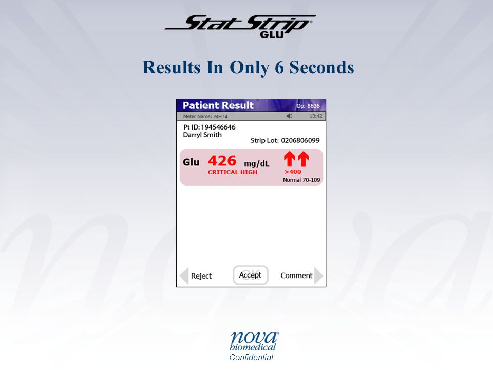 Results In Only 6 Seconds