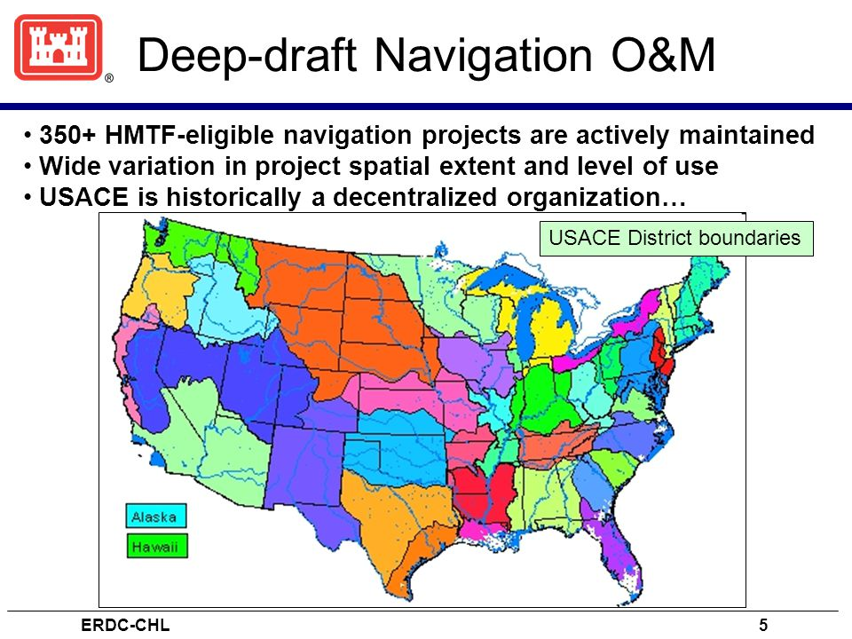 Deep-draft Navigation O&M