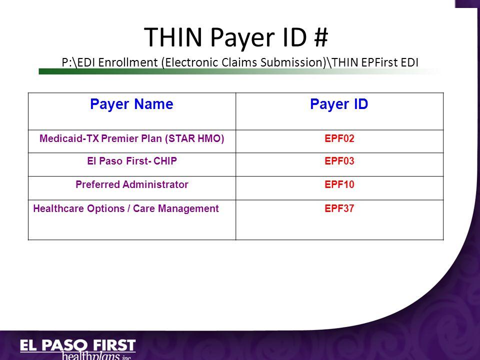 Medicaid-TX Premier Plan (STAR HMO) Preferred Administrator