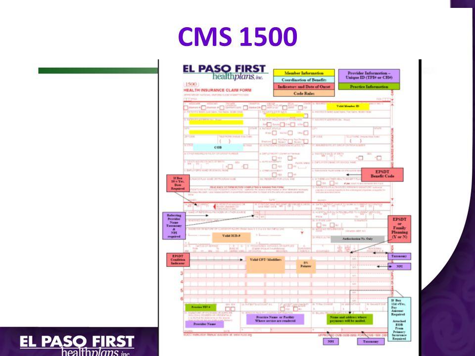 CMS 1500