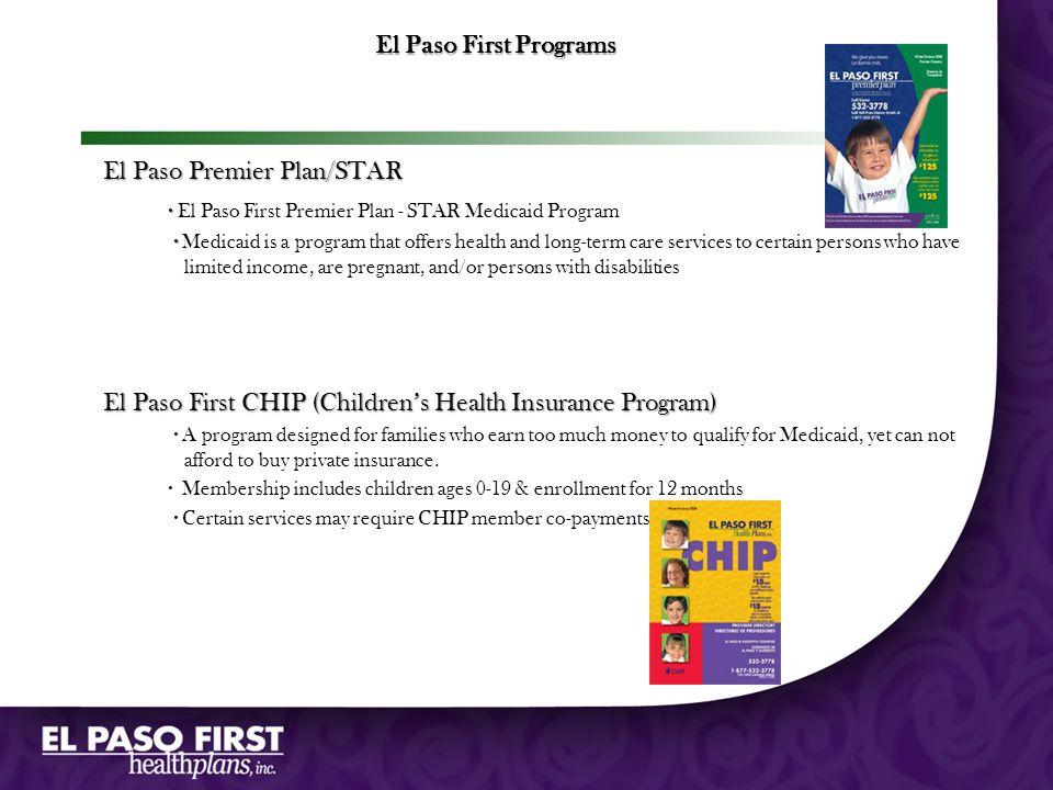 El Paso Premier Plan/STAR