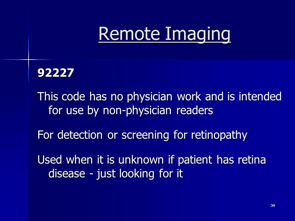 Remote Imaging