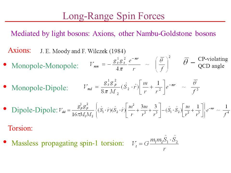Long-Range Spin Forces