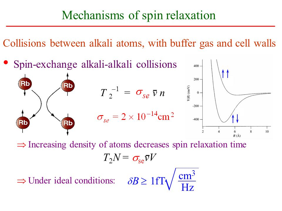 Mechanisms of spin relaxation
