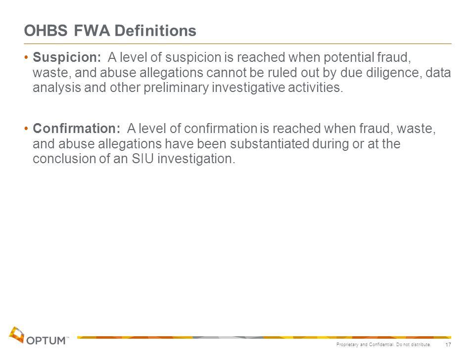 OHBS FWA Definitions