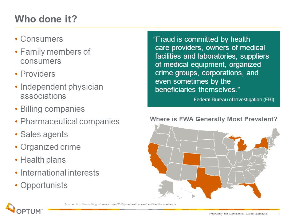 Where is FWA Generally Most Prevalent