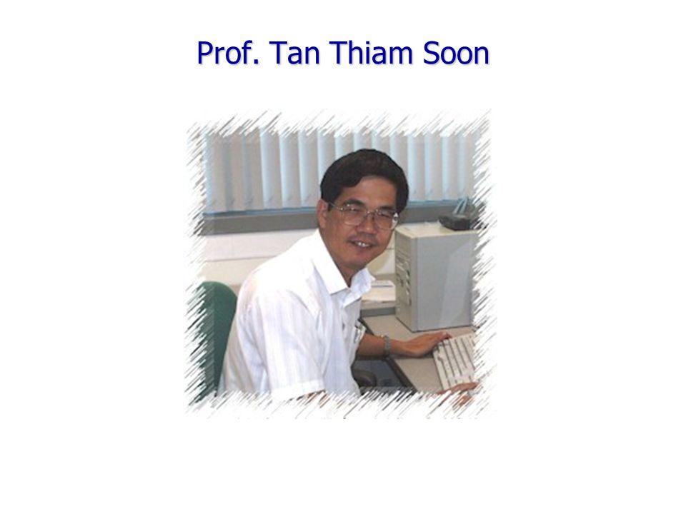 Prof. Tan Thiam Soon