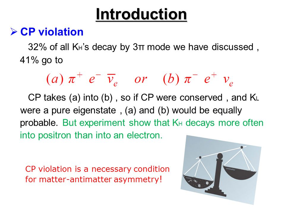 Introduction CP violation