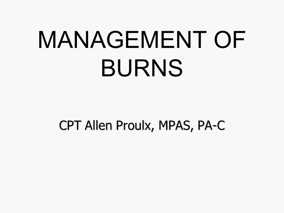 CPT Allen Proulx, MPAS, PA-C