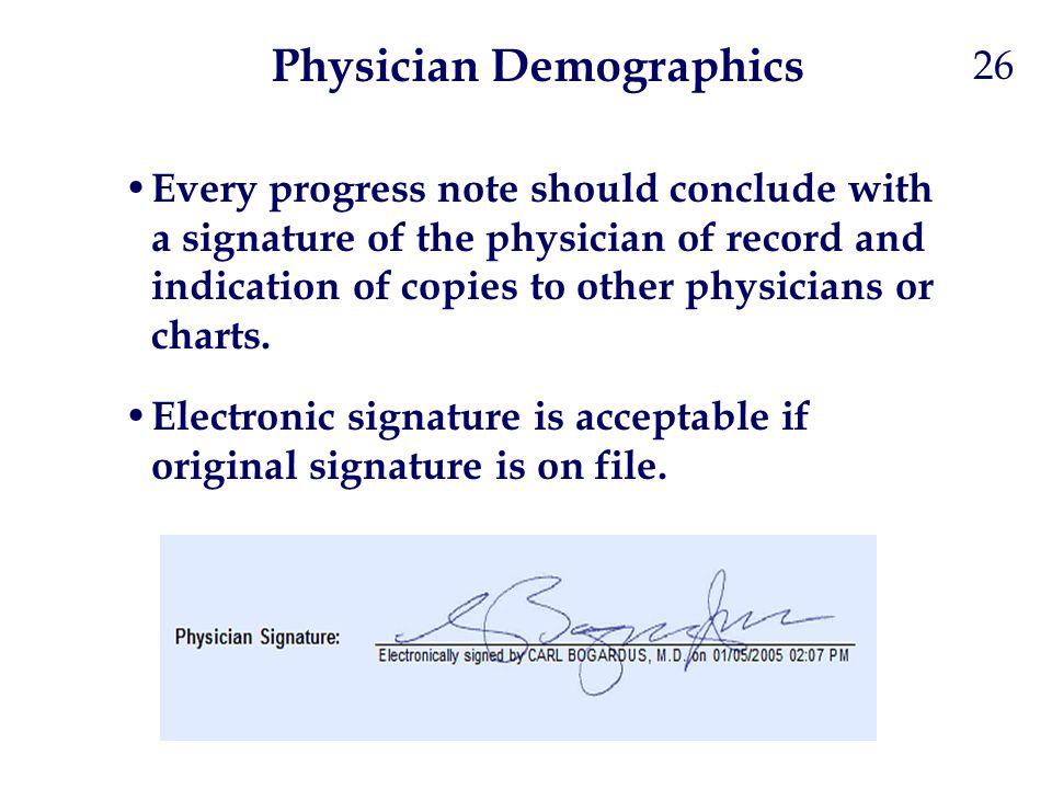 Physician Demographics