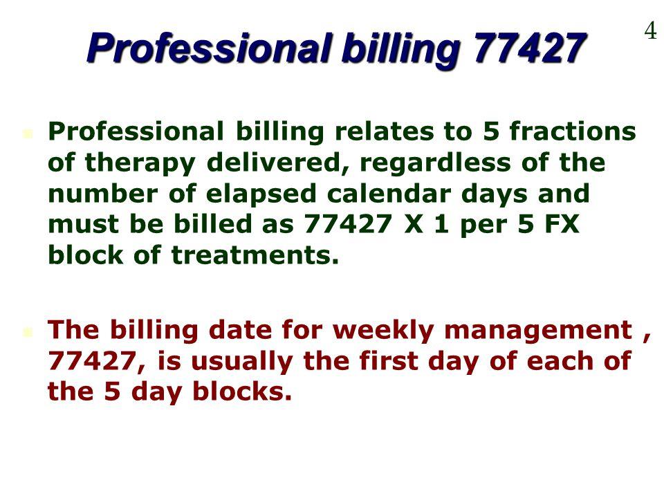 Professional billing 77427 4.
