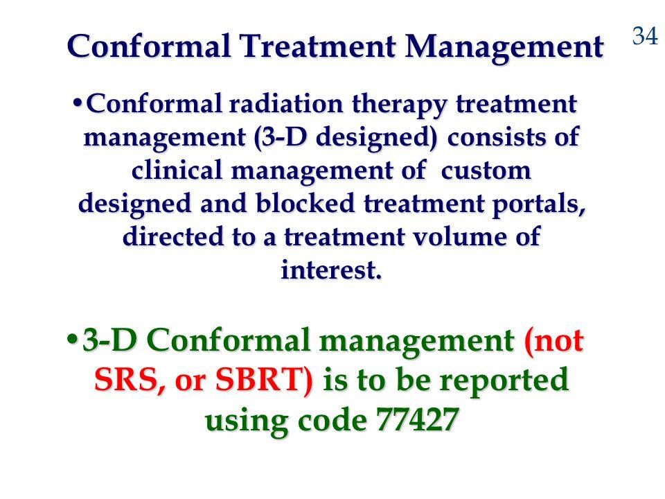Conformal Treatment Management
