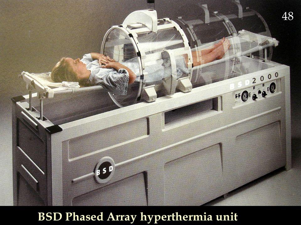 48 BSD Phased Array hyperthermia unit