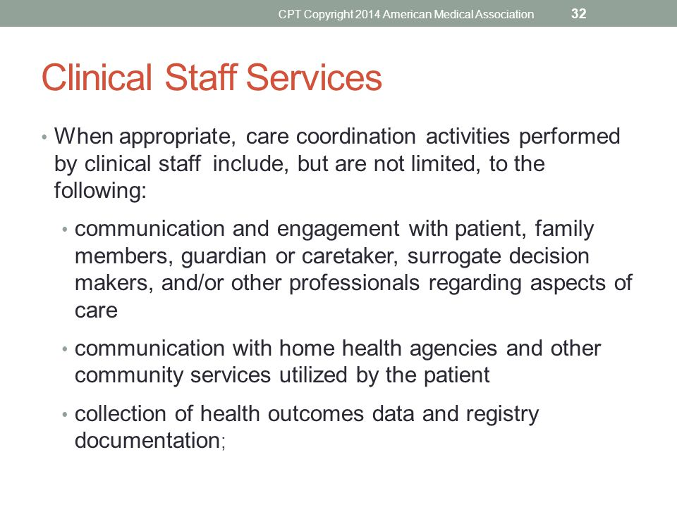 Clinical Staff Services