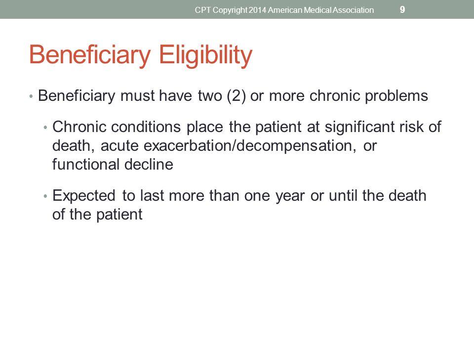 Beneficiary Eligibility