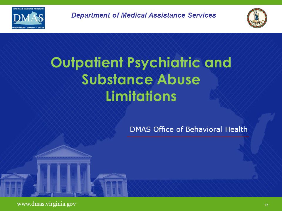 Outpatient Psychiatric and Substance Abuse Limitations