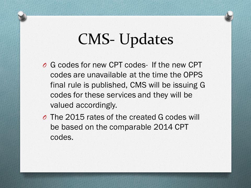 CMS- Updates