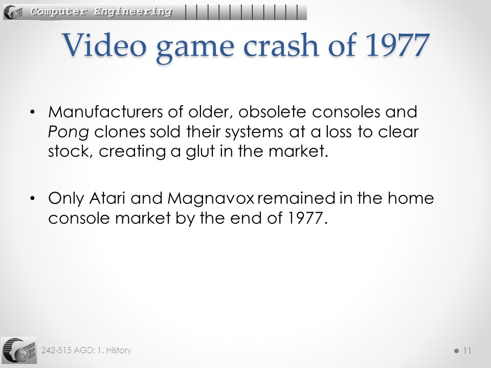 Video game crash of 1977