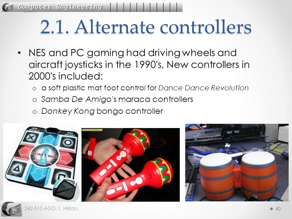 2.1. Alternate controllers