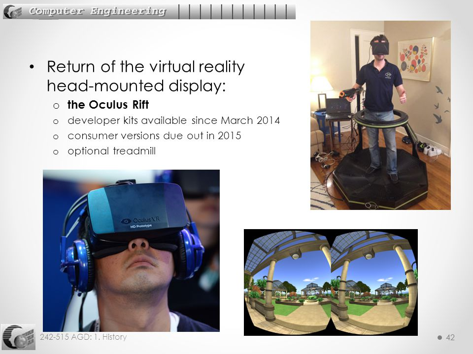 Return of the virtual reality head-mounted display: