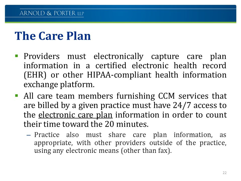 The Care Plan